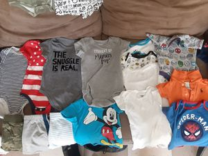 New and Used Baby clothes size from 0-6 months and 6-9 months for Sale in Camden, NJ