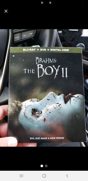The Boy 2 blu ray dvd combo brand new sealed with slip cover for Sale in Fullerton, CA