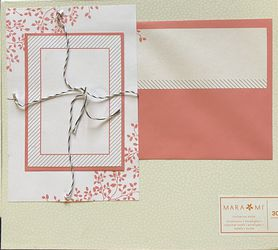 "Mara-Mi Pink Leaves Print-At-Home Invitation Kit, 30 count item#70887 ""Brand New"" for Sale in Nokesville,  VA"