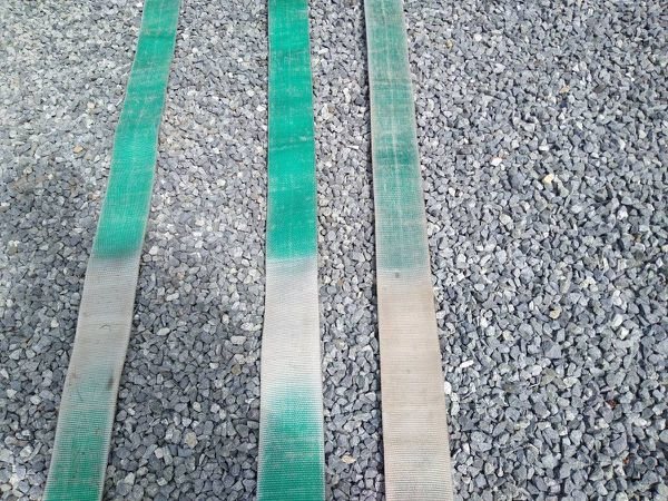 used Truck / trailer winch straps. $2 to $3.33 each