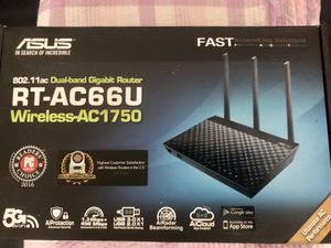 ASUS RT-AC66U Wireless AC1750 Router for Sale in Irvine, CA
