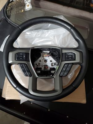 2015-2020 F-150 Leather Heated Steering Wheel Setup for Sale in Temecula, CA