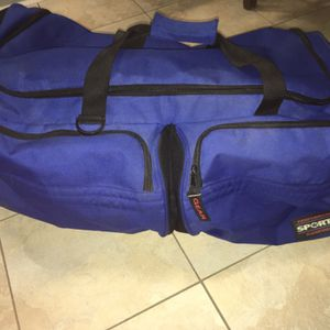 Large Blue Duffel Bag For Travel Or Camping (Sportif brand) for Sale in Wexford, PA