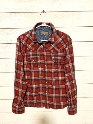 Woman's large plaid shirt for Sale in Federal Way, WA