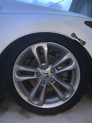 Honda Civic Si 2008 Wheels size:17-7(new tires included) for Sale in Miami, FL