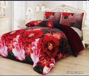 3pc Blanket Borrego Set ~ Queen for Sale in San Jose,  CA