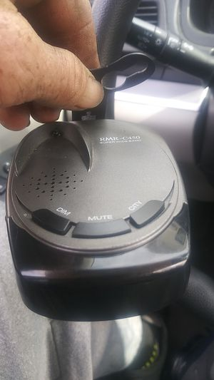 Radar detector rocky mountain radar RMR-C450 super wide band. $179 new...$$$40$$$!!! for Sale in Rancho Cucamonga, CA