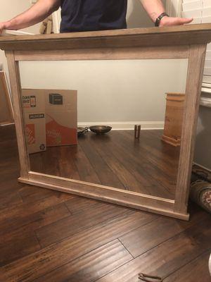 Light Wooden Mirror for Sale in Lafayette, LA