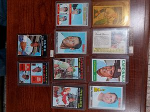 Lot of 10 1950s 1960s and 1970s Baseball Cards for Sale in Seattle, WA