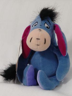 DISNEY Winnie the Pooh's pal Talking EEYORE Bean Bag Plush Doll for Sale in Homestead, FL