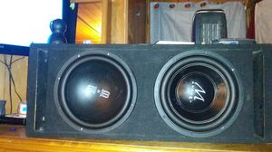 Pair 12inch subs for Sale in Pueblo, CO