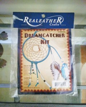 "Realeather crafts Dreamcatcher Kit 5"" arts and crafts for Sale in Des Plaines, IL"
