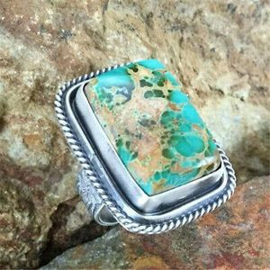 925 Silver Turquoise Ring Size 8 for Sale in Decatur, GA