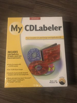 My CD labeler for Sale in San Jose, CA