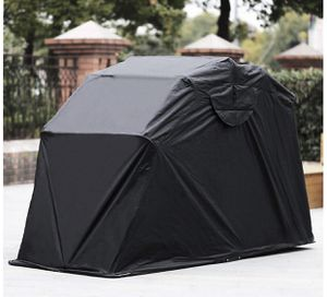 Motorcycle Shelter Shed Strong Frame Motorbike Garage Waterproof 106.5 Inch X41.5 Inch X61 Inch Motorbike Cover Tent Scooter Shelter Hoods for Vehicl for Sale in Lomita, CA
