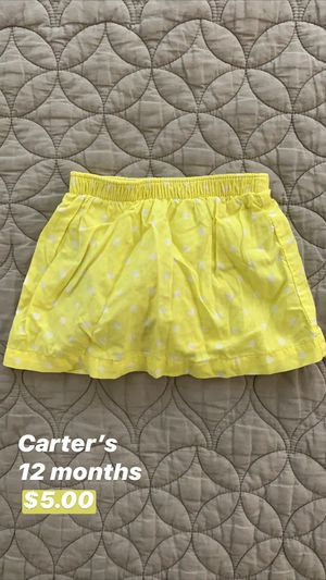 Carter's Baby Skirt for Sale in Seattle, WA