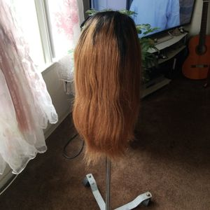 real Brazilian human hair wig 18inches for Sale in Pasadena, CA