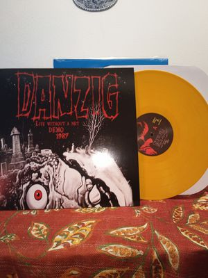 Danzig - Life Without A Net 1987 Demo LP COLORED VINYL misfits Samhain punk for Sale in Vernon, CA