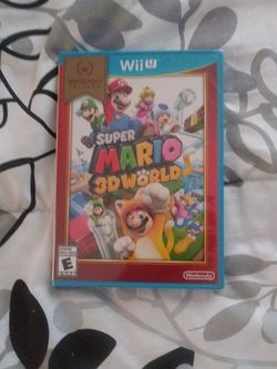 Nintendo Wii U Super Mario 3d World Brand New Factory Sealed Never Open Pick Up In North Hollywood for Sale in Los Angeles,  CA