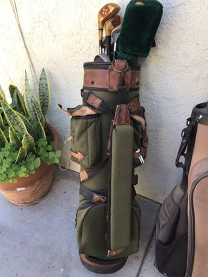 Golf clubs with bag and a pack of new golf balls for Sale in Walnut, CA