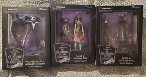 Nightmare before christmas action figures !!!! for Sale in Phoenix, AZ