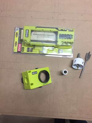 Ryobi door hinge and door knob installation kits for Sale in Concord, MA