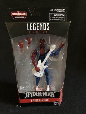 Marvel Legends Spider-Punk Lizard NO BAF for Sale in Alhambra, CA