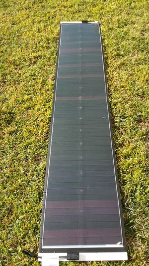 7 foot solar panel thin lightweight flexible for Sale in San Jose, CA