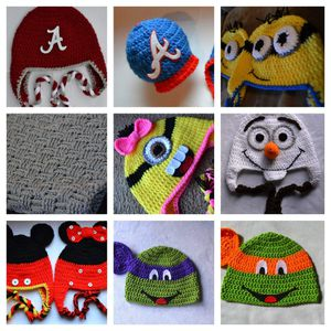 Olaf, Mickey Mouse TMNT, Minions hats for Sale in Atlanta, GA