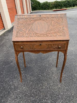 Antique oak secretary desk for Sale in Baltimore, MD