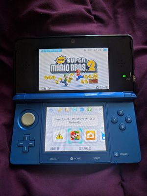 Japanese Nintendo 3DS+New Super Mario Bros. 2 for Sale in Oakland, CA