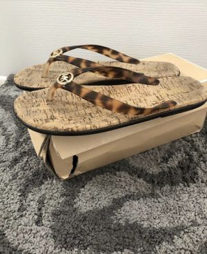 Michael Kors Jet Set Tortoise Sandals 8 for Sale in Clermont, FL