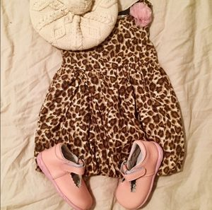 18 - 24 m / 2T Girl Children's Place Animal Print Bubble Dress for Sale in Bountiful, UT