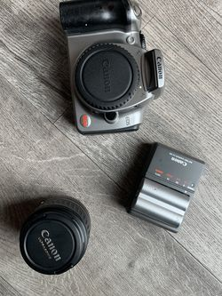 Canon Rebel Camera With 2 Batteries And Lens for Sale in Los Angeles,  CA