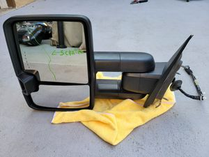 Chevy silverado sierra 2500 3500 2014 2015 2016 2017 2018 left mirror for Sale in Lawndale, CA