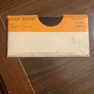 Welders Filter Lens (GOLD BAND) for Sale in Lake Charles, LA