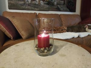 Vase: curved glass for Sale in San Marcos, CA
