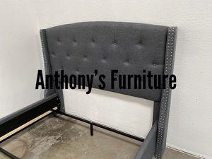 Queen grey bed frame for Sale in Norwalk, CA