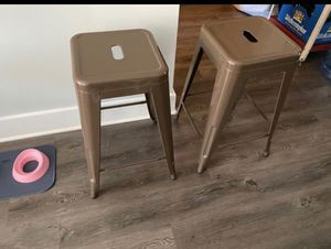 Tabouret 24 inch Metal Bar Stools for Sale in Fayetteville, NC