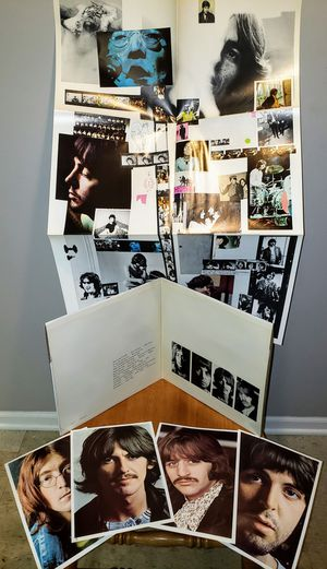 """Beatles """"White album"""" w original photos and poster!! for Sale in Lombard, IL"""