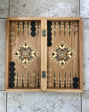 Handmade Backgammon Game Board for Sale in Las Vegas, NV