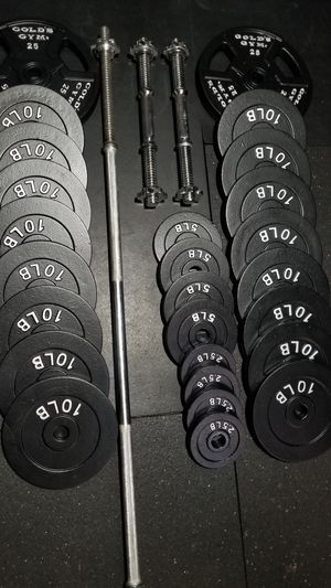 BARS AND WEIGHTS for Sale in Lakewood, WA