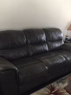 Leather Sofa And Matching Chair, Flexsteel for Sale in Murfreesboro,  TN