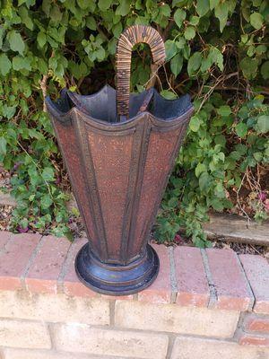 Vintage umbrella holder antique wooden for Sale in Chino Hills, CA