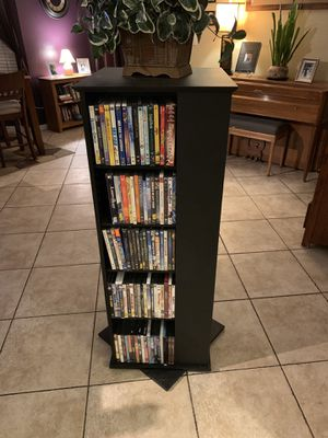 DVD and CD Stand (Rotating) for Sale in Glendale, AZ
