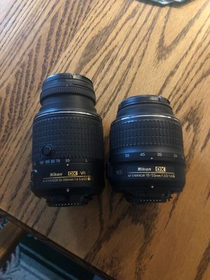 Nikon DX VR and DX LENSES for Sale in Marysville, WA