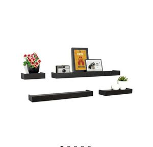 Set of 4 floating wall shelves for Sale in Tacoma, WA