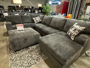 Sectional Sofa, Smoke for Sale in Norwalk, CA
