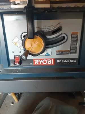"""Ryobi 10"""" Table Saw for Sale in Milford, CT"""