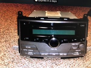 Toyota Venza 2009-2010 stereo system for Sale in Fairfax, VA